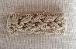 Cable Headband in Lana