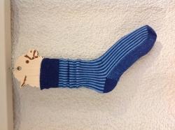 Alpaca Socks - Navy Plain 4-7