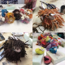 Needle Felted Alpaca/Highland Cow/Sheep Workshop* SOLD OUT*