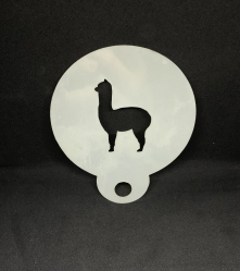 Alpaca Stencil
