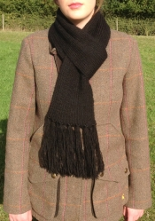Whitby Scarf in Swift SOLD BEING RE KNITTED