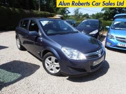 2009 (09 Reg) Vauxhall Astra 1.6i 16V Club 5dr