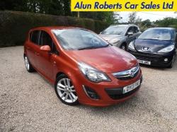 2013 (13 Reg) Vauxhall Corsa 1.4i SRI Exterior Pack 5dr