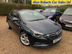 2017 (67 Reg) Vauxhall Astra 1.4i 16V Turbo SRI (150) 5dr