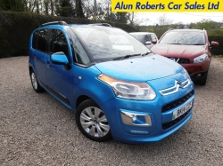 2014 (14 Reg) C3 Picasso 1.6 HDI Exclusive Turbo Diesel 5dr