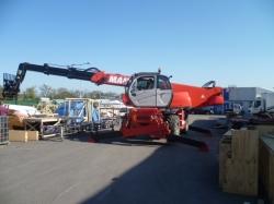 360 degree Telescopic Forklift Training at Longcross Film Studios