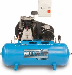 NUAIR Piston Compressor NB10/270 FT 10 DS