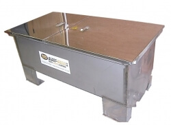 Stainless Steel Cold Chemical Stripping Tank