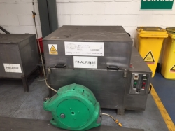 Used Parts washer - 800 ml Diameter Basket Direct From Site