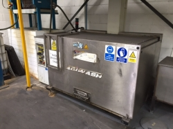 Agi Wash 1.5m Basket Hot Dip Tank