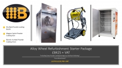Alloy Wheel Powder coating Starter set up package