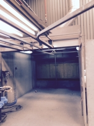 Full Powder Coating Set Up - Booth, Oven, Track, Gun
