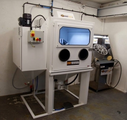 Wheel Preparation Blasting Cabinet