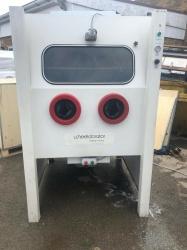USED Wheelabrator Wet Blast Cabinet **SOLD**