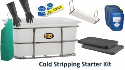 Alloy Wheel Cold Stripping Starter Package