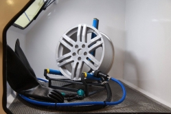 Alloy Wheel Rotating Holder for blasting Cabinets