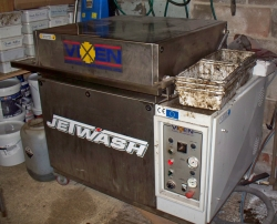 Used  JetwashTop Loader (Stainless) With Rinse