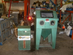 Used Clarkson Dryblast cabinet *sold*