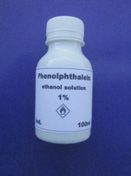 Phenolphthalein (Titrating Indicator)