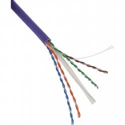 Excel Cat 6 Cable U/UTP 23AWG B2ca LS0H 305m Box - Violet