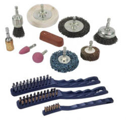 WIRE BRUSHES, CUTTING/GRINDING DISCS