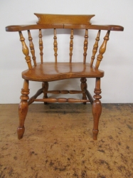 Victorian Captains/Bow Chair c1870