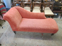 Victorian drop end Chaise