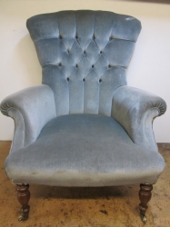 1980s Button Back Chair