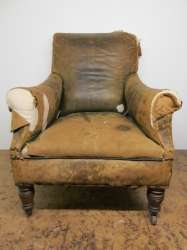 Edwardian Armchair fully restored to look utterly fabulous once again