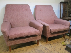 Vintage Parker Knoll PK 970/1 Lounge Chairs