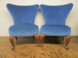 Mid Century Cocktail/side Chairs