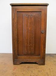Antique Oak Bedside Cabinets