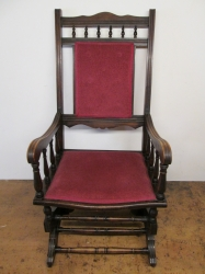 Edwardian c1910 Rocking Chair