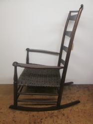 Original Antique American Shaker Rocking Chair