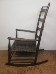 Original Antique American Shaker Rocking Chair