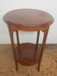 Early 20th Century Lamp/Side Table