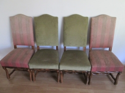 Continental High Back Chair Set