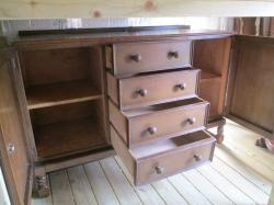1940s Oak Sideboard