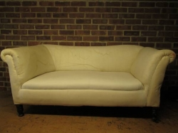 Fully restored Edwardian drop - arm sofa