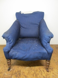 Old Victorian Armchair looking fabulous again