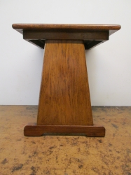 Early 20th Century Book/Side Table