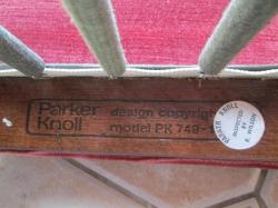 Vintage Parker Knoll PK 749 Armchair