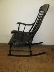 An American 'Boston Rocker' Armchair c1840