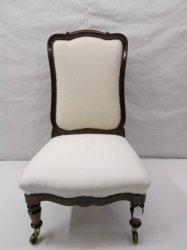 Victorian Rosewood High Back Chair