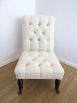 Victorian Mahogany Nursing Chair