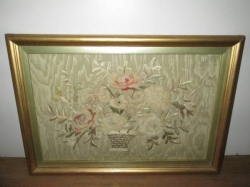 George III Silk Embroidery