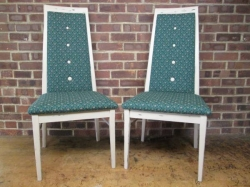 Set of Four Vintage 1960/70s Dining Chairs