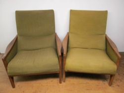 Pair of G-Plan c1960 Arm Chairs