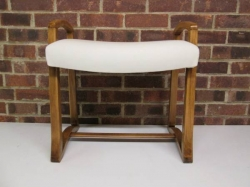 Art Deco Dressing Table/Piano Stool