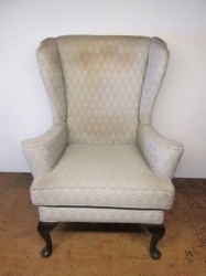 1960s Wing Arm Chair